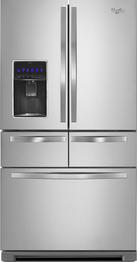 26' Stainless Steel 5-Door Refrigerator